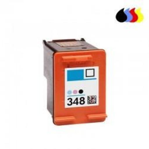 C9369E CARTUCHO RECICLADO HP COLOR (N 348) 3X6 ML [0]