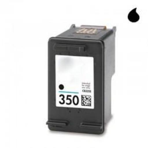 CB335EE CARTUCHO RECICLADO HP NEGRO (N 350) 15 M