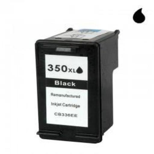 CB336EE CARTUCHO RECICLADO COMPATIBLE CON HP NEGRO XL (N 350XL) 30 ML