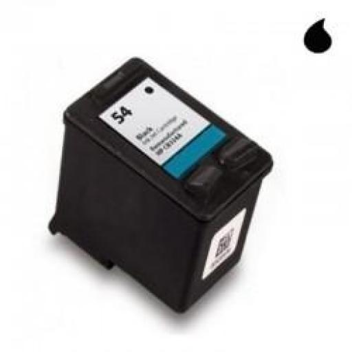 CB334AE CARTUCHO RECICLADO HP NEGRO (N 54) 24 ML