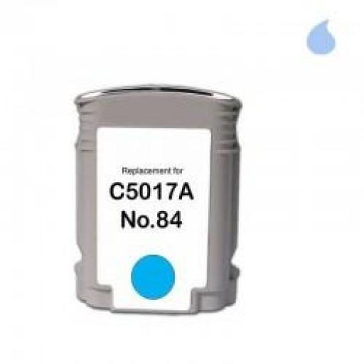C5017A CARTUCHO GENERICO HP LIGHT CYAN (N 84LC) 69 ML