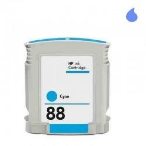 C9391AE CARTUCHO GENERICO HP CYAN (N 88XLC ) 28 ML