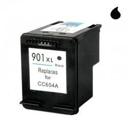 CC654AE CARTUCHO RECICLADO COMPATIBLE CON HP NEGRO (N 901XLBK) 20 ML