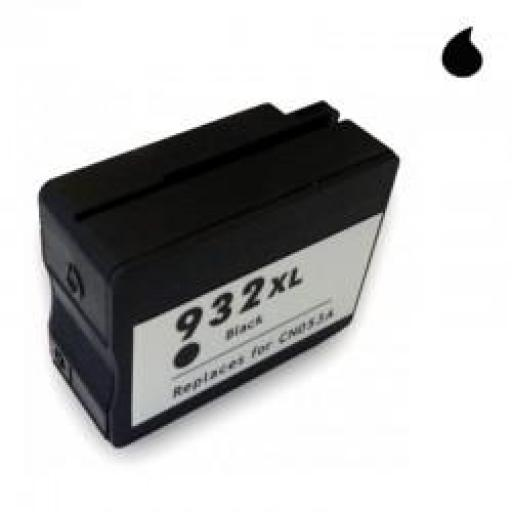 CN053AE CARTUCHO GENERICO COMPATIBLE CON HP NEGRO (N 932XLBK) 69 ML