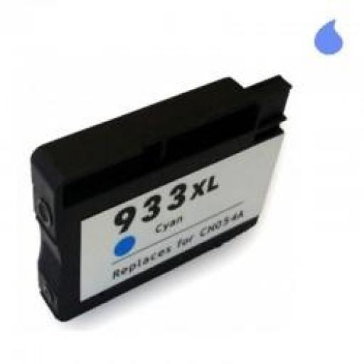 CN054AE CARTUCHO GENERICO HP CYAN (N 933XLC) 28 ML