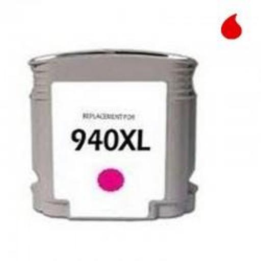 C4908AE CARTUCHO GENERICO COMPATIBLE CON HP MAGENTA (N 940XLM) 'CON CHIP' 28 ML