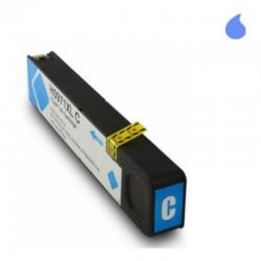 CN626AE CARTUCHO GENERICO HP CYAN (N 971C) 120ML NEW CHIP