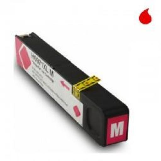 CN627AE CARTUCHO GENERICO HP MAGENTA (N 971M) 120ML NEW CHIP
