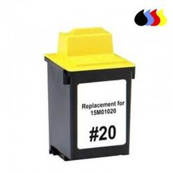 15M0120 CARTUCHO RECICLADO LEXMARK COLOR (N 20) 3X10 ML