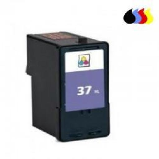 018C2160E CARTUCHO RECICLADO LEXMARK COLOR (N 37) 22,5 ML