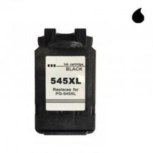PG-545XL CARTUCHO RECICLADO CANON NEGRO (PG545XL) 18 ML
