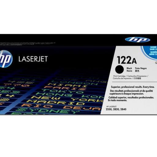 HP Toner Laser 122A Negro Q3960A