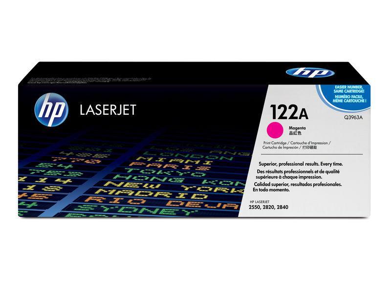 HP Toner Laser 122A Magenta Q3963A