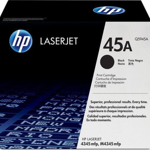 HP Toner Laser 45A Negro 18.000pg Q5945A