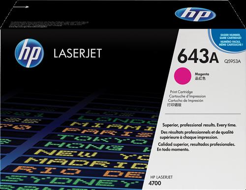 HP Toner Laser 643A Magenta Q5953A