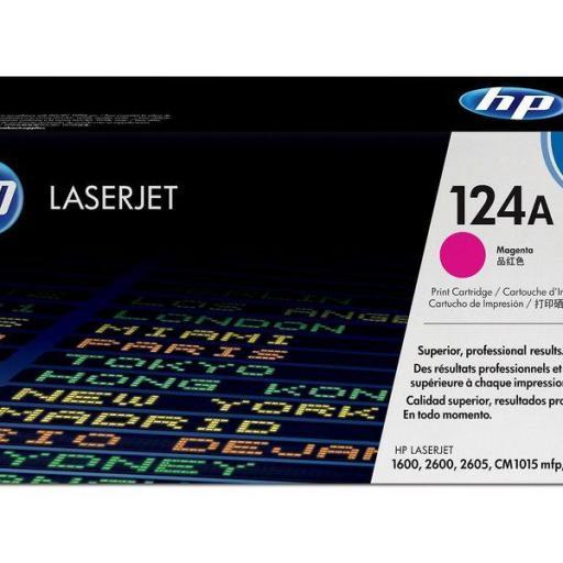 HP Toner Laser 124A Magenta Q6003A