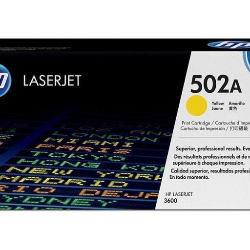 HP Toner Laser 502A Amarillo Q6472A  [0]