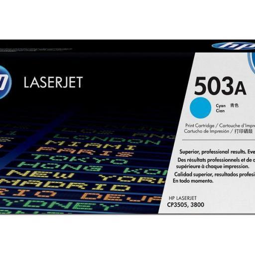 HP Toner Laser 503A Cyan Q7581A