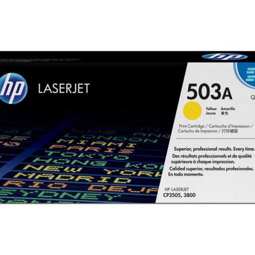 HP Toner Laser 503A Amarillo Q7582A