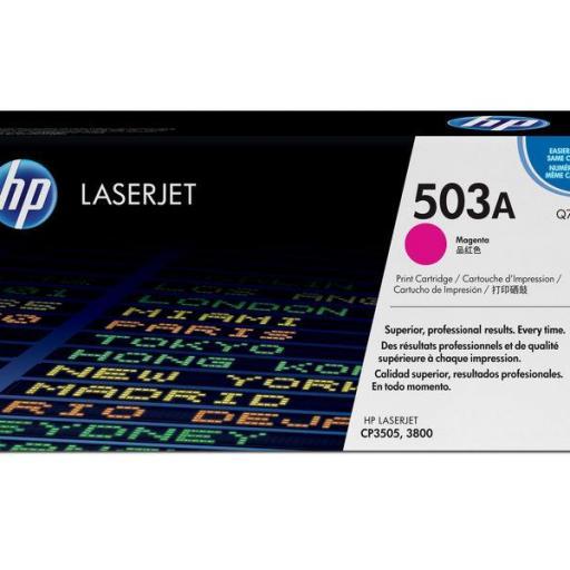 HP Toner Laser 503A Magenta Q7583A