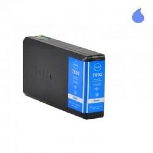 T7892 XL CARTUCHO GENERICO EPSON CYAN 40ML ( C13T789240)