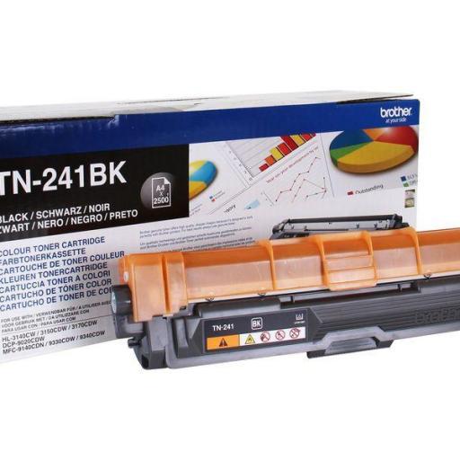 BROTHER Toner Láser Tn241BK 2,5K  [0]