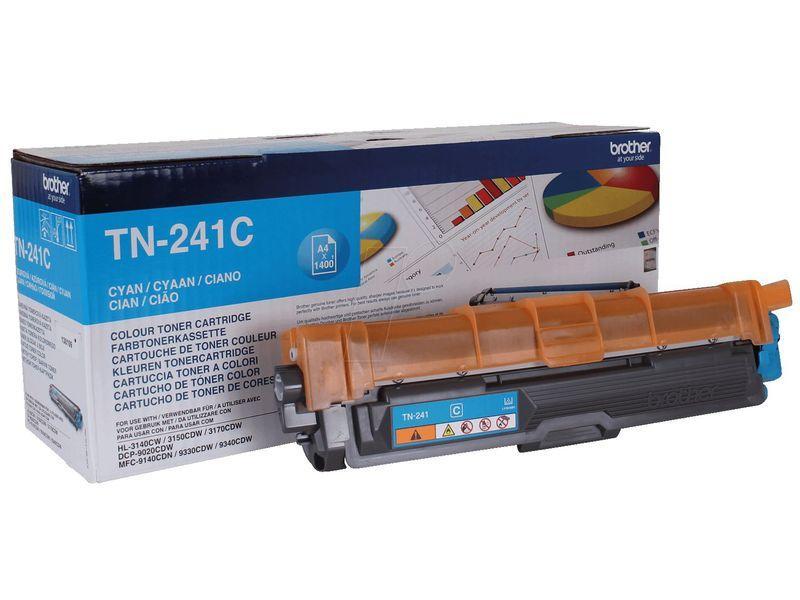 BROTHER Toner Laser Tn241 CYAN 1,4K