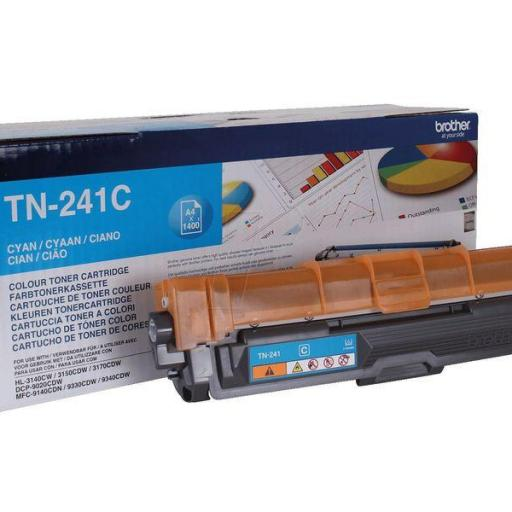 BROTHER Toner Laser Tn241 CYAN 1,4K