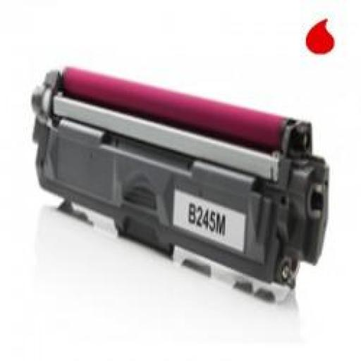 TN245M TONER GENERICO BROTHER MAGENTA (TN-245M) 2.200 PAG.