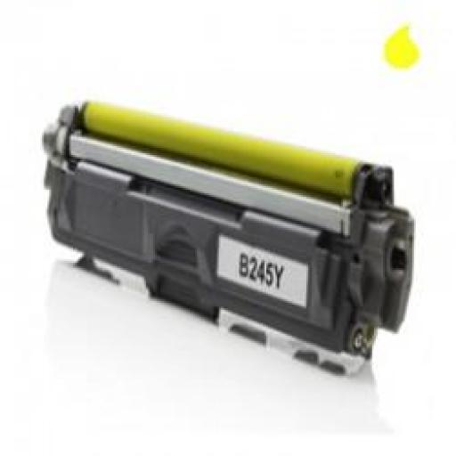 TN245Y TONER GENERICO BROTHER AMARILLO (TN-245Y) 2.200 PAG.