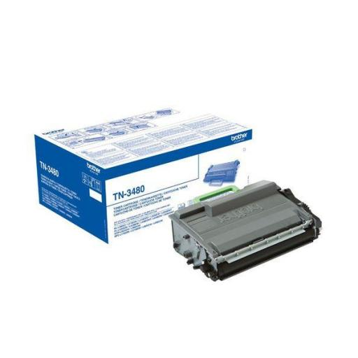 BROTHER TONER LASER NEGRO 8000 PAGINAS TN3480
