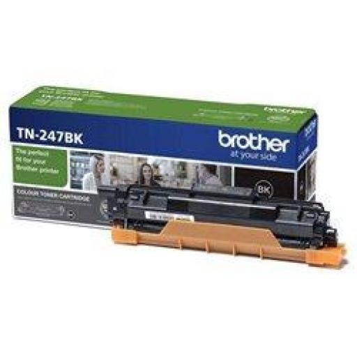TÓNER ORIGINAL BROTHER TN-247BK ALTA CAPACIDAD/ NEGRO
