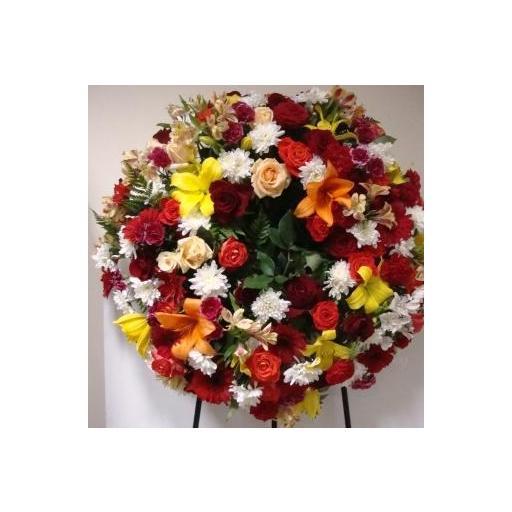 Corona flor variada [0]