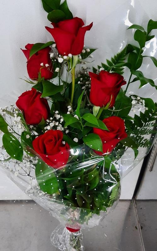 Sexteto de rosas