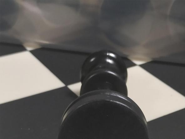 Tablero y piezas de ajedrez en PVC Nacional  tamaño reglamentario [1]