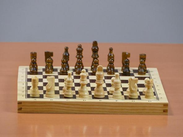 Estuche 3 en 1 Ajedrez-Damas-Backgammon (aquamarine game) madera [1]