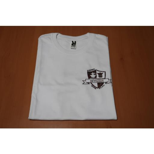 Camiseta blanca con logo  Reydama [1]
