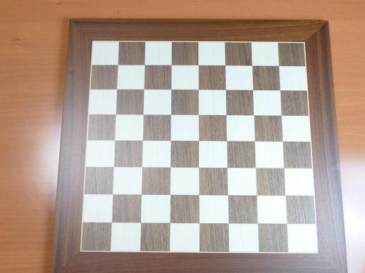 Tablero de ajedrez en  madera 50x50 Reydama -Rechapados Ferrer