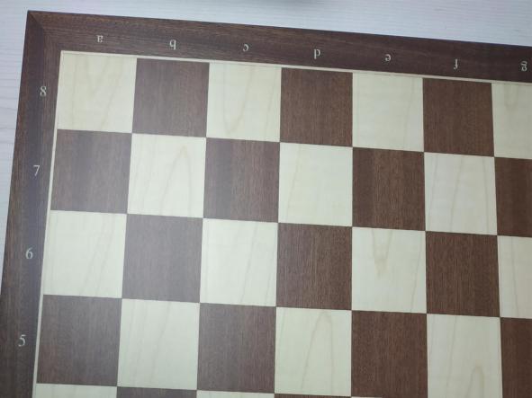 Tablero con coordenadas de Madera   50x50 Rechapados Ferrer [1]