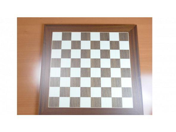 Conjunto Reydama Tablero de ajedrez de 50x50 Piezas Staurton 6 Plomadas set Damas adicionales Stauton 6 plomadas [3]
