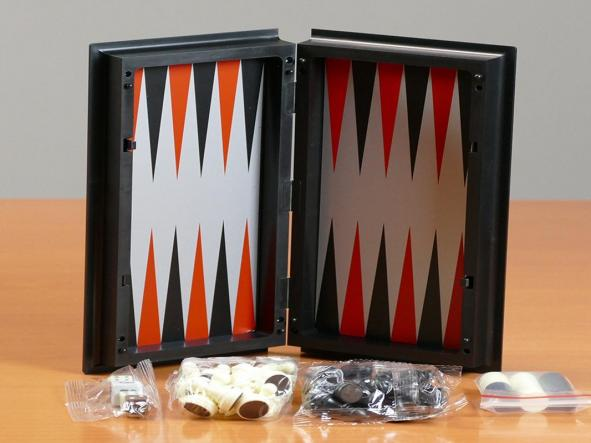 Estuche 3 en 1 magnético Ajedrez-Damas-Backgammon (aquamarine game) [3]