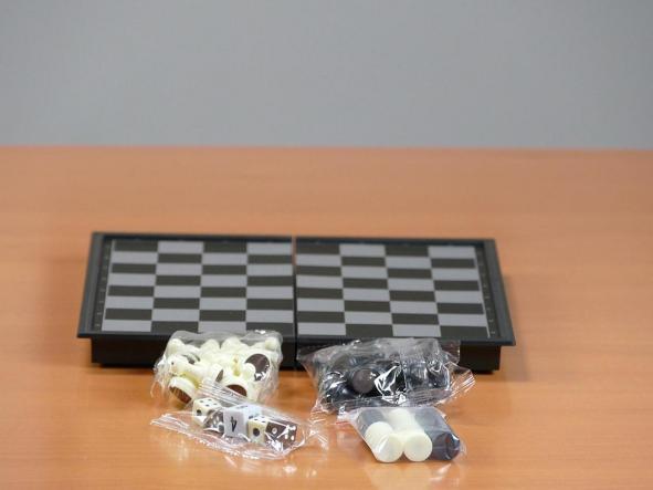 Estuche 3 en 1 magnético Ajedrez-Damas-Backgammon (aquamarine game) [1]