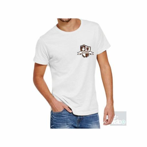 Camiseta blanca con logo  Reydama