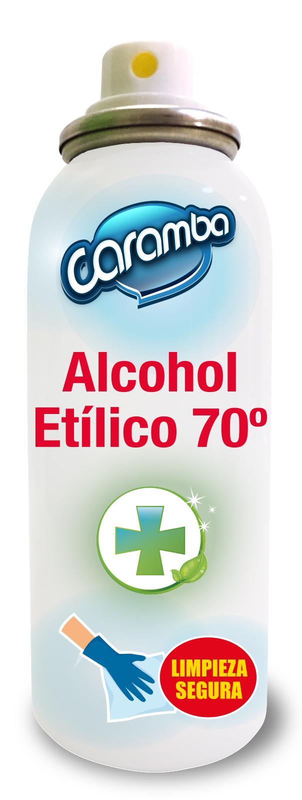 ALCOHOL ETILICO DESINFECTANTE EN SPRAY 70º