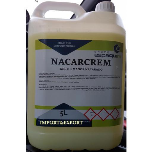 Gel de manos  Nacarado Garrafa de 5 litros
