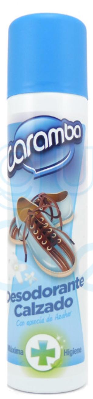 Desodorante calzado Caramba