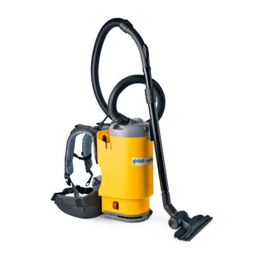Aspirador industrial polvo de mochila 3,3 L [2]