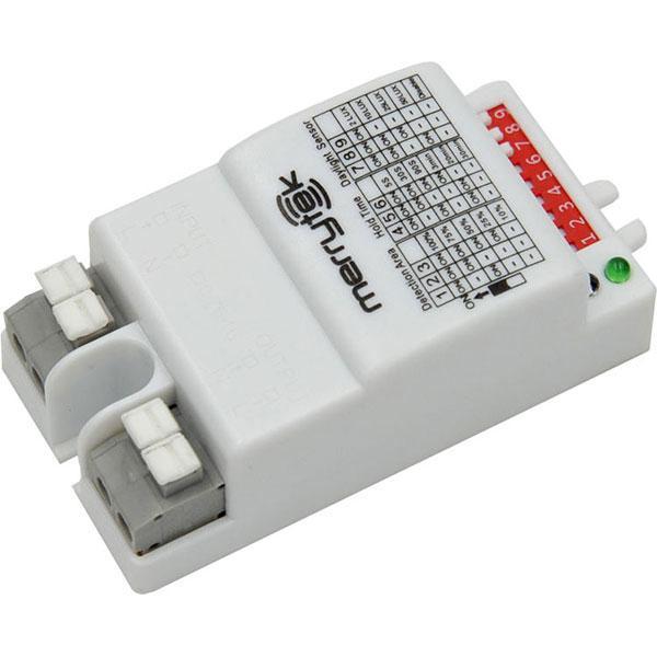 SENSOR MOVIMIENTO HF5,8GHz AREA-LUX-MIN AJUSTABLE 300W IP20