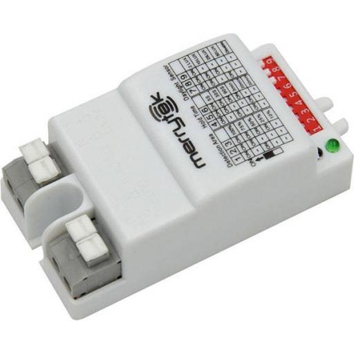 SENSOR MOVIMIENTO HF5,8GHz AREA-LUX-MIN AJUSTABLE 300W IP20 [0]