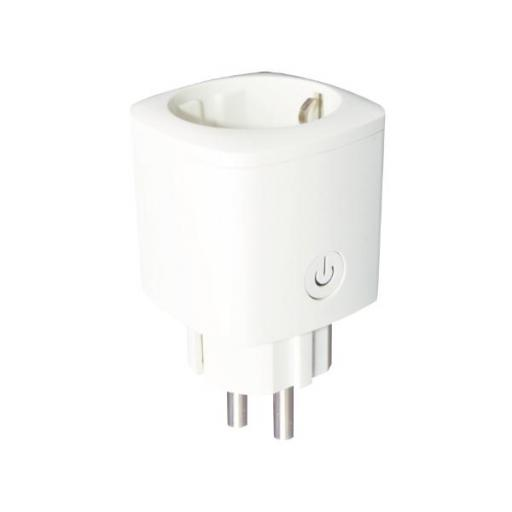 ENCHUFE INTELIGENTE WIFI 16 A BLANCO